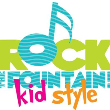 Rock the Fountain Kids' Summer Concert Series